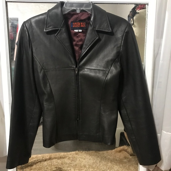 Women's Dark Brown Leather Jacket
